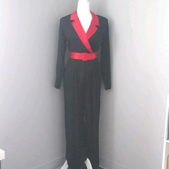 1980s Vintage Marnie West Jumpsuit